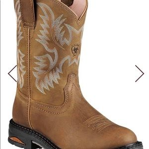Ariat composite toe work boots